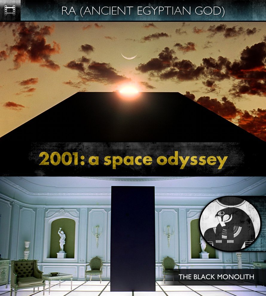 RA - 2001: A Space Odyssey (1968) - The Black Monolith