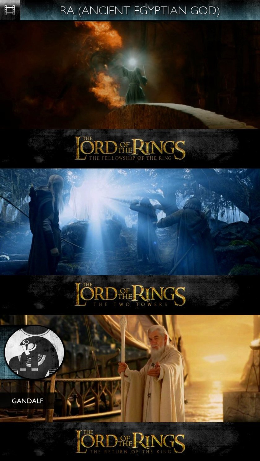 RA - The Lord Of The Rings (2001-2003) - Gandalf