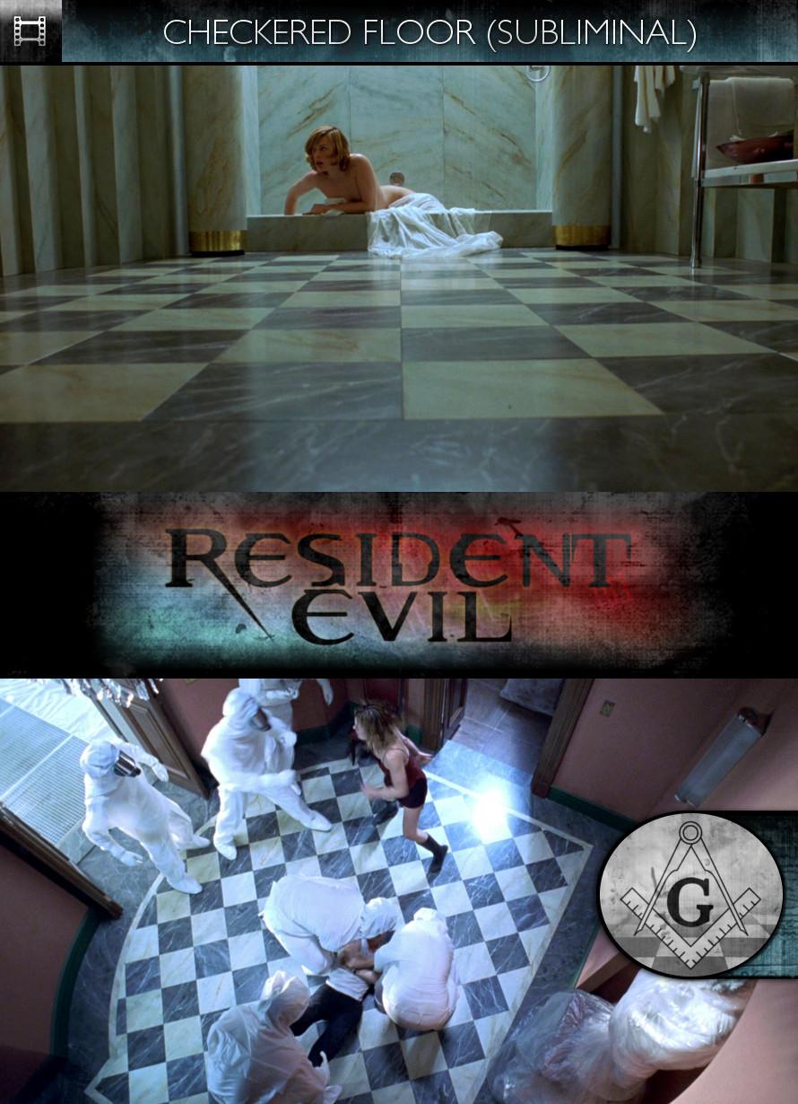 Resident Evil (2002) - Checkered Floor - Subliminal