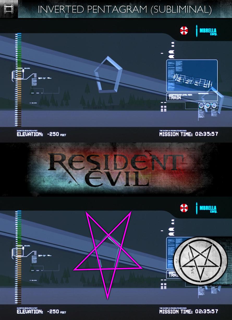 Resident Evil (2002) - Inverted Pentagram - Subliminal