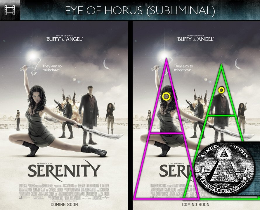 Serenity (2005) - Poster - Eye of Horus - Subliminal