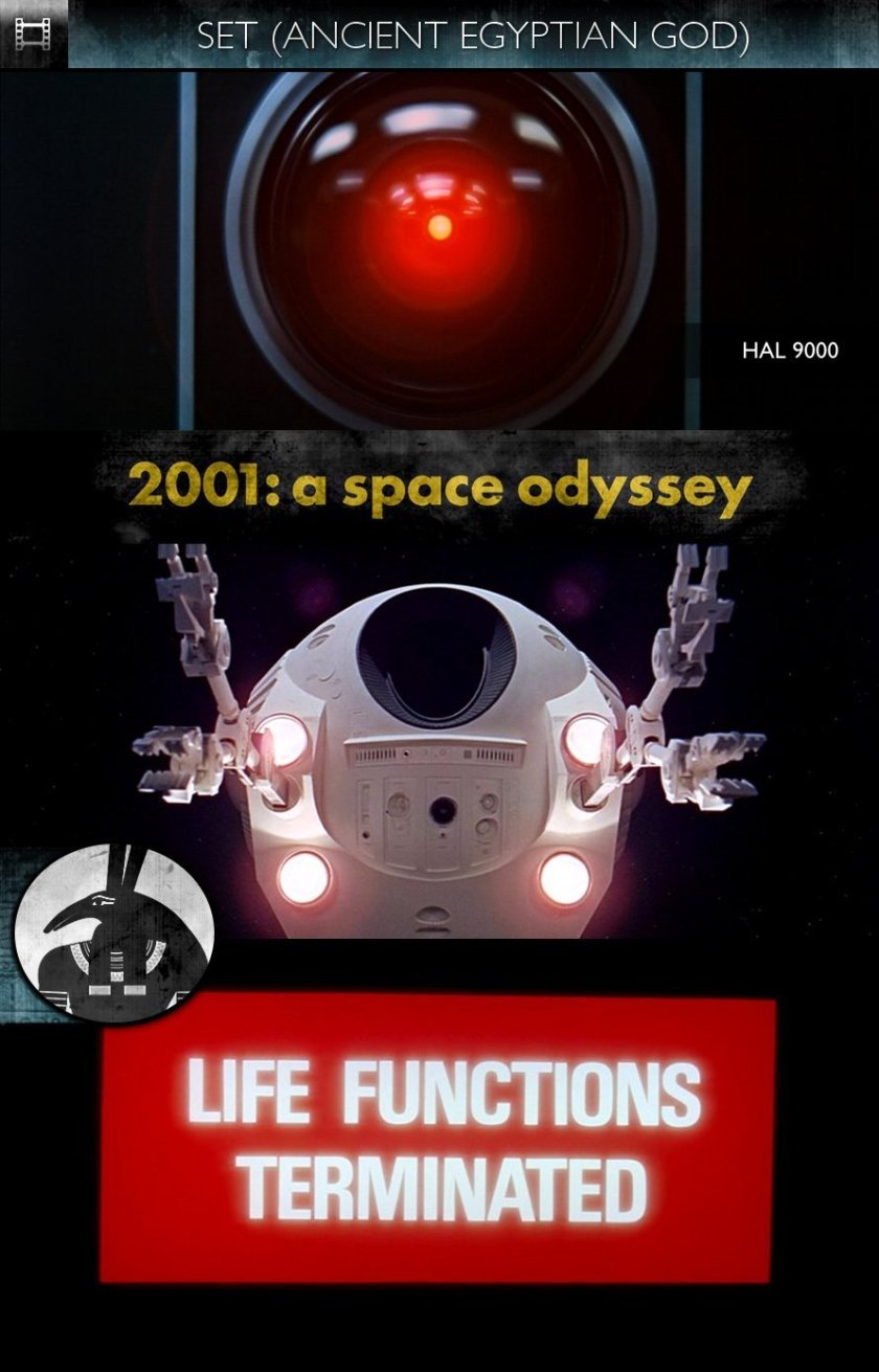 SET - 2001: A Space Odyssey (1968) - HAL 9000