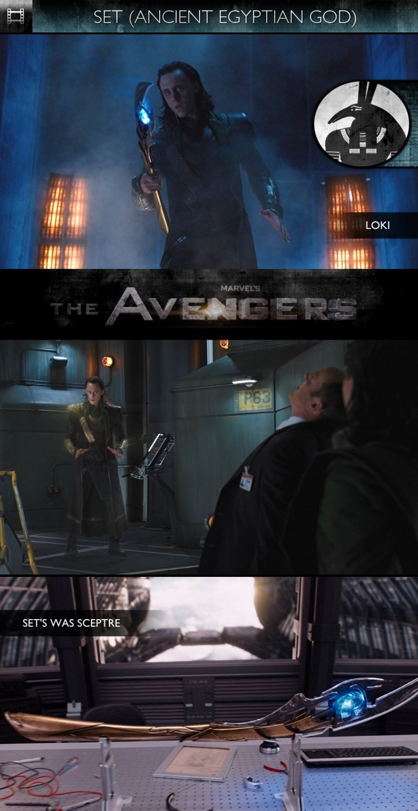 SET - The Avengers (2012) - Loki & Was Sceptre