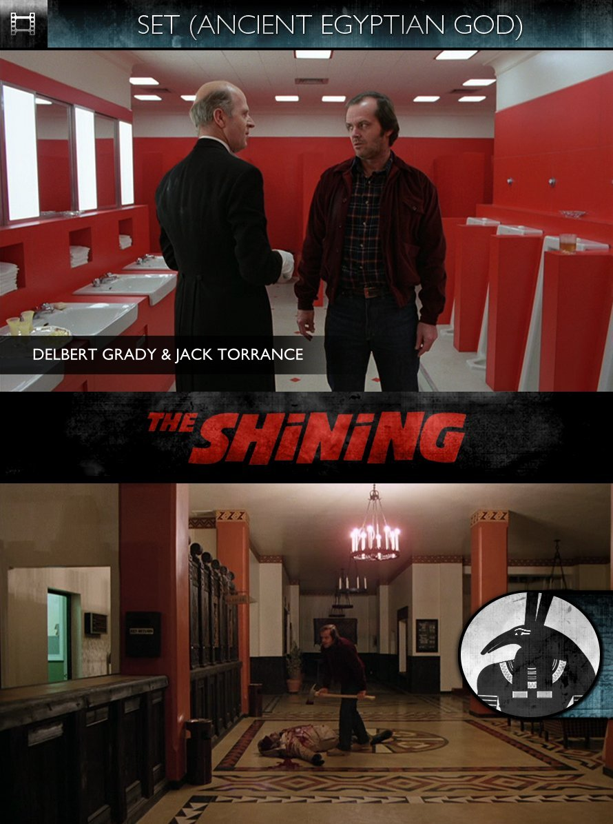 SET - The Shining (1980) - Jack Torrance & Delbert Grady