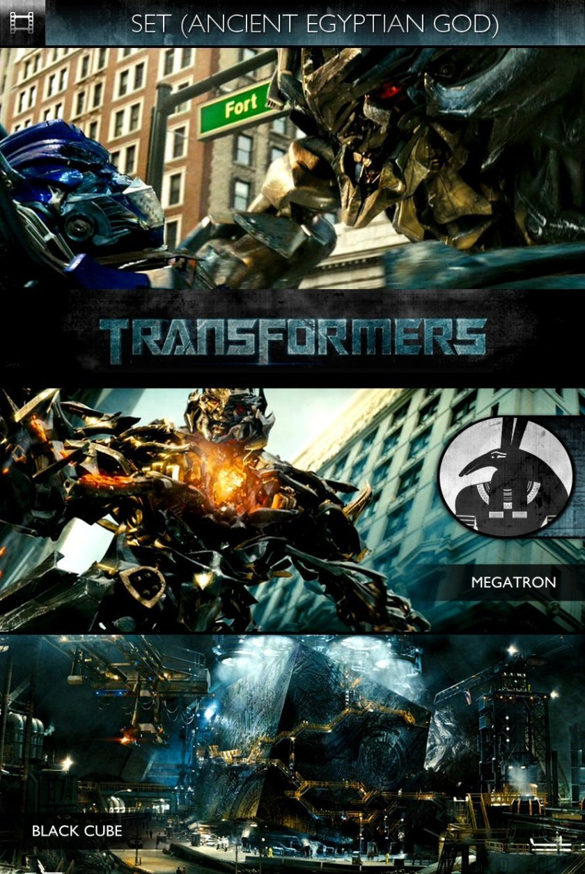 SET - Transformers (2007) - Megatron & Black Cube