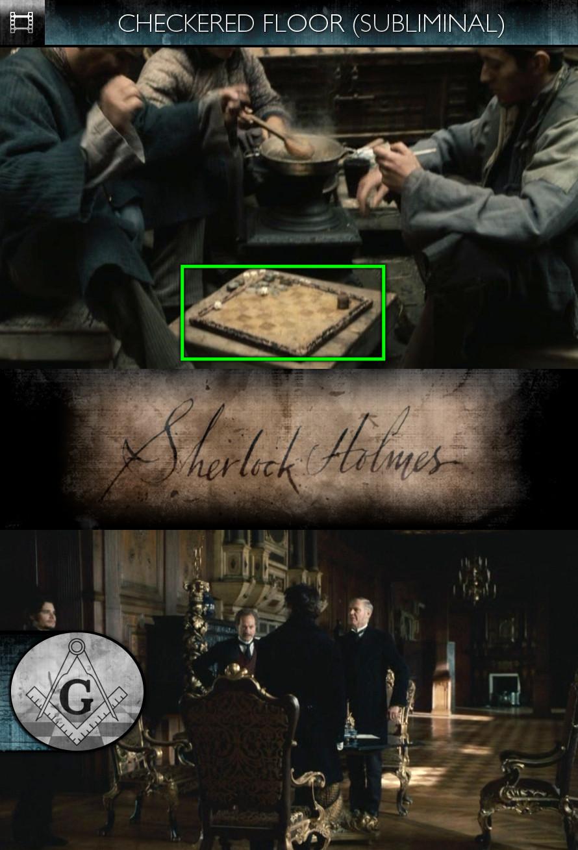 Sherlock Holmes (2009) - Checkered Floor - Subliminal
