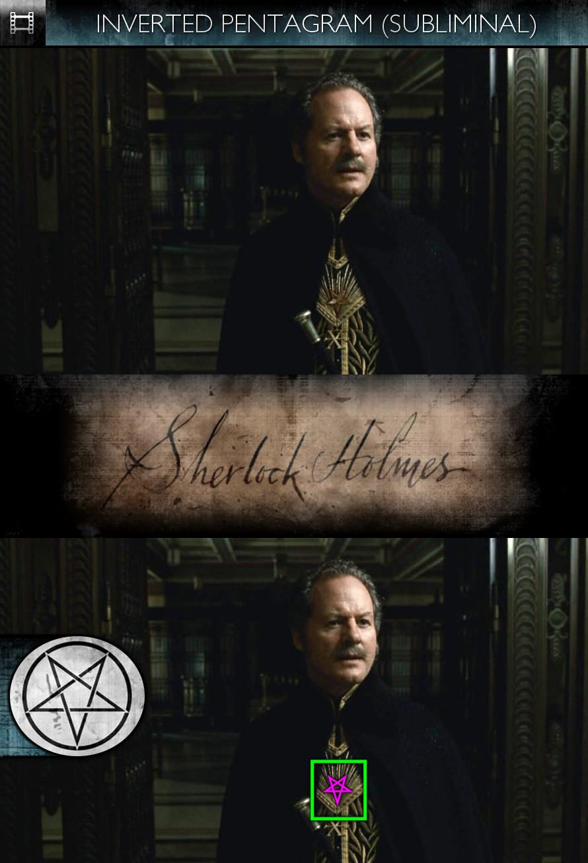 Sherlock Holmes (2009) - Inverted Pentagram - Subliminal