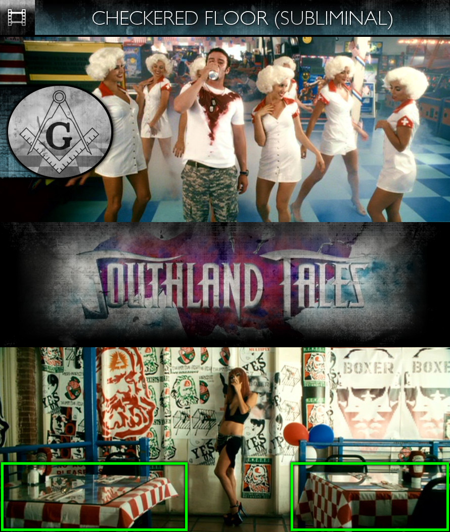 Southland Tales (2006) - Checkered Floor - Subliminal