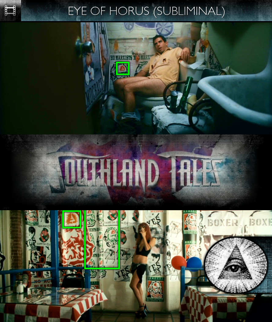 Southland Tales (2006) - Eye of Horus - Subliminal