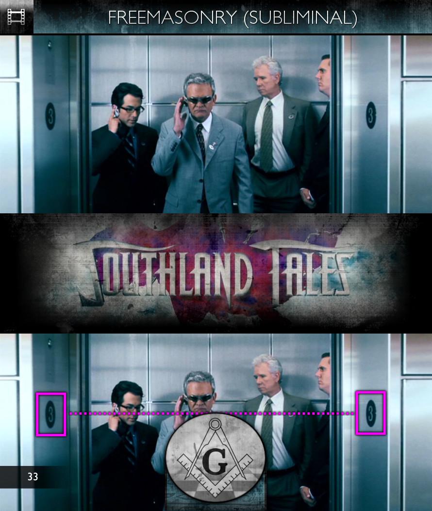 Southland Tales (2006) - Freemasonry - Subliminal