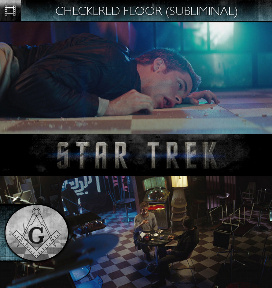 Star Trek (2009) - Checkered Floor - Subliminal