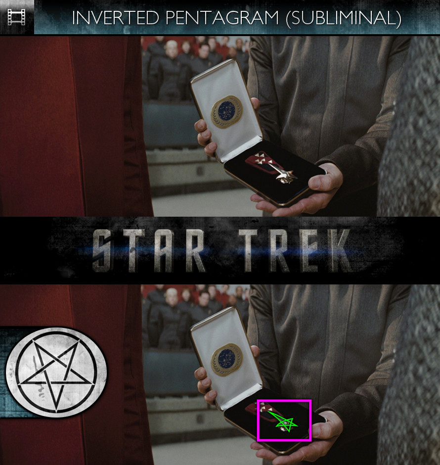 Star Trek (2009) - Inverted Pentagram - Subliminal