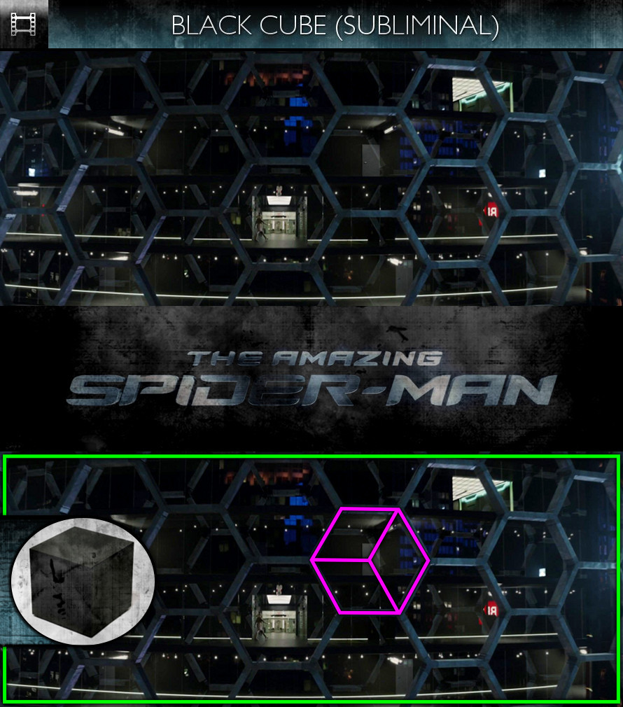 The Amazing Spider-Man (2012) - Black Cube - Subliminal