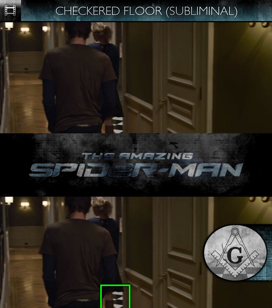 The Amazing Spider-Man (2012) - Checkered Floor - Subliminal