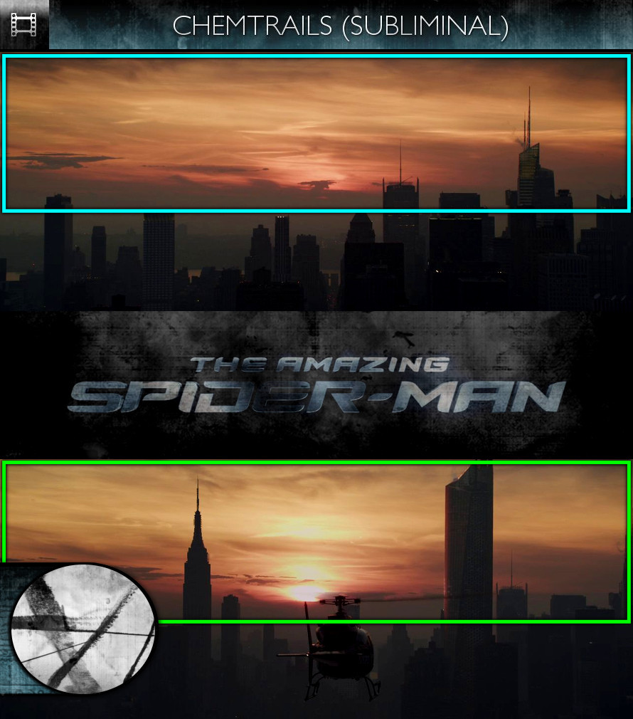 The Amazing Spider-Man (2012) - Chemtrails - Subliminal