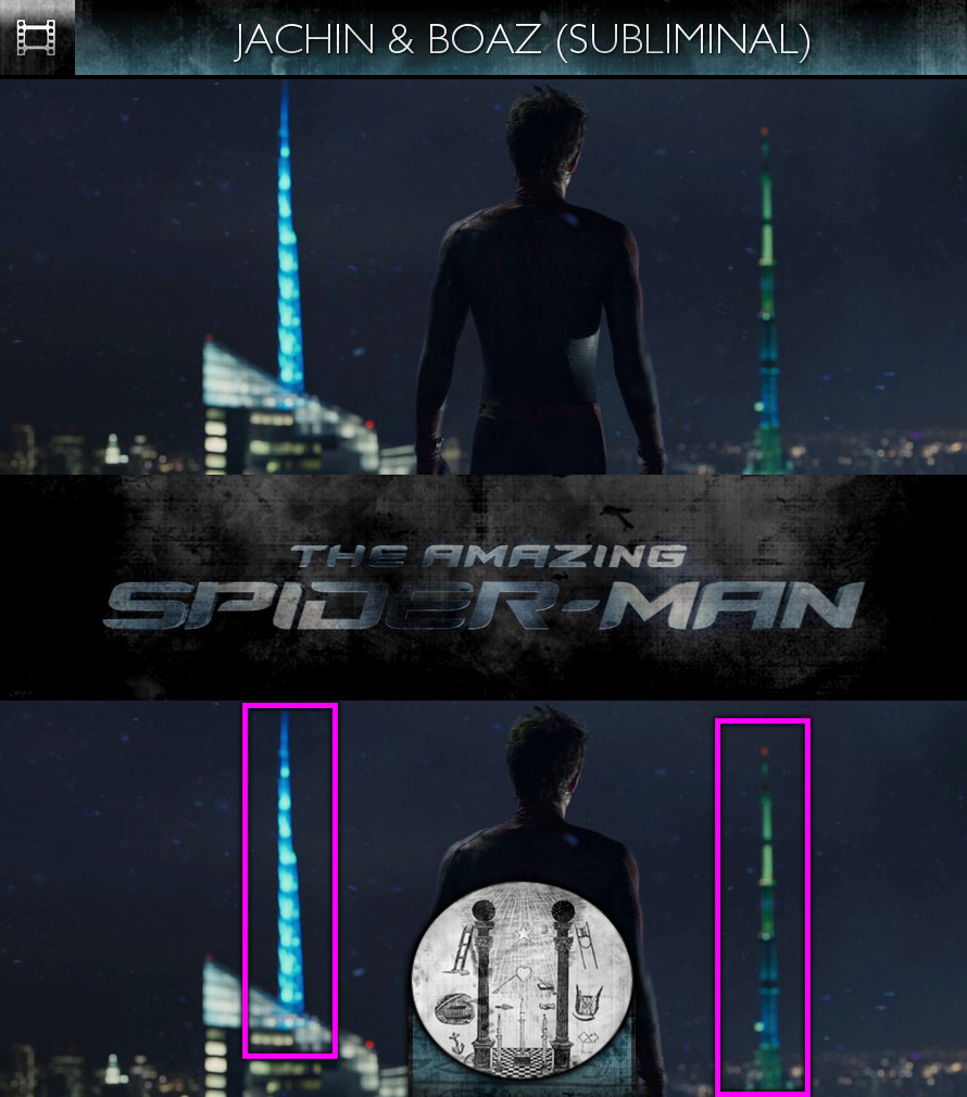 The Amazing Spider-Man (2012) - Jachin and Boaz - Subliminal