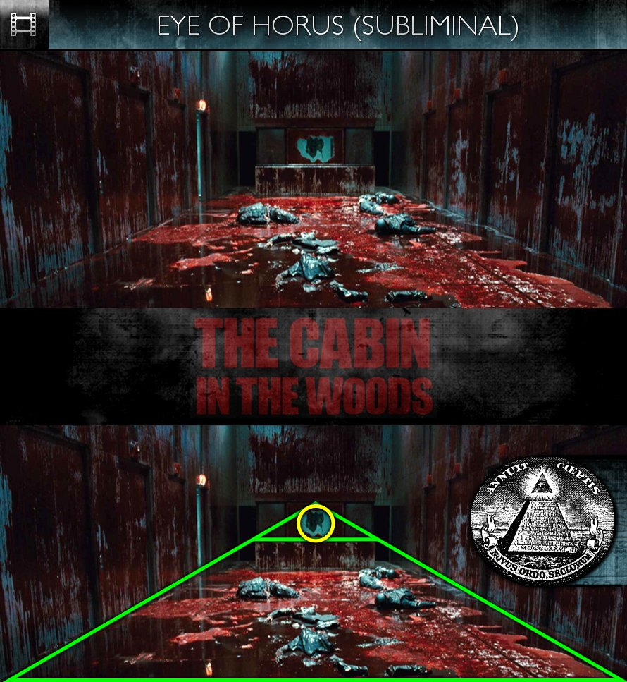 The Cabin In The Woods (2012) - Eye of Horus - Subliminal