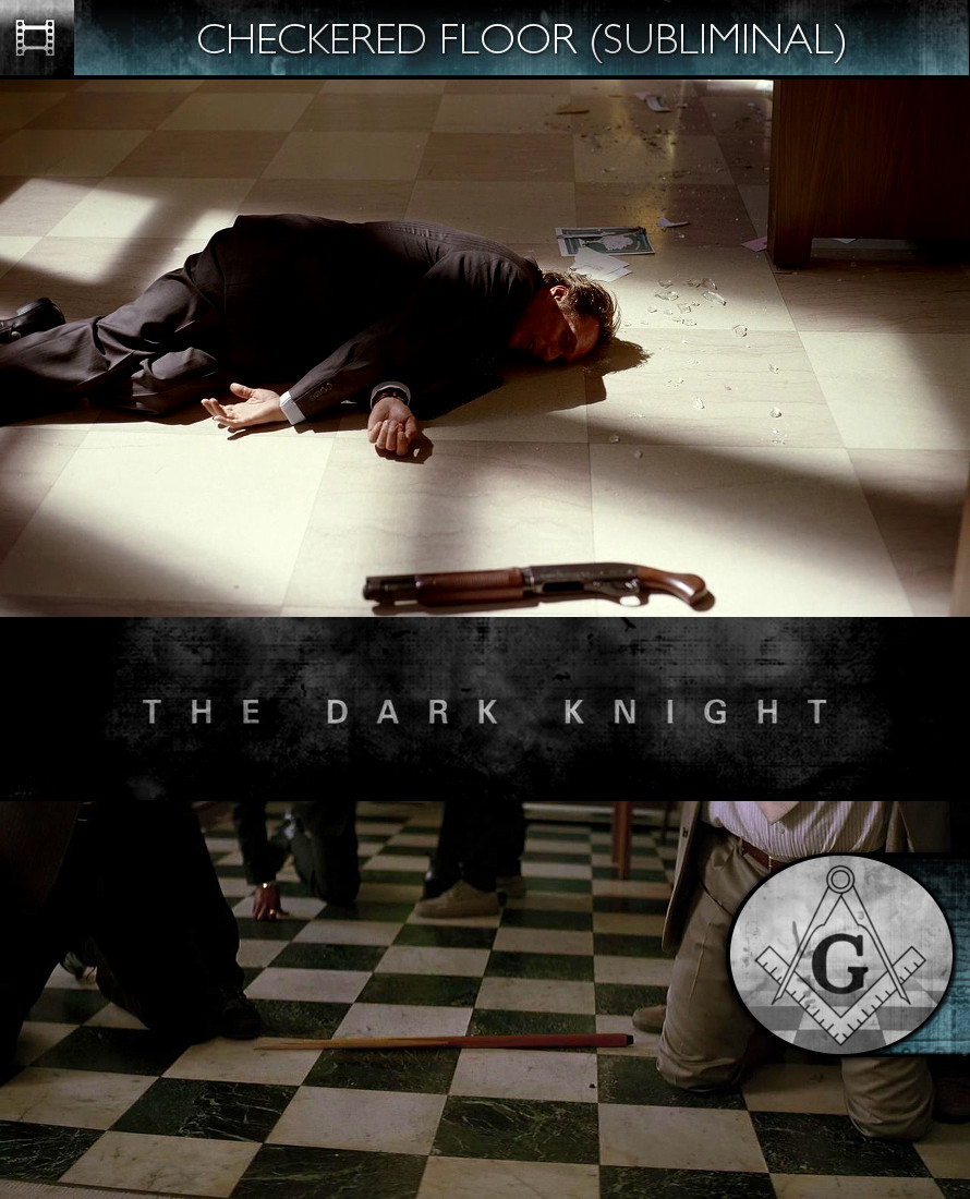 The Dark Knight (2008) - Checkered Floor - Subliminal