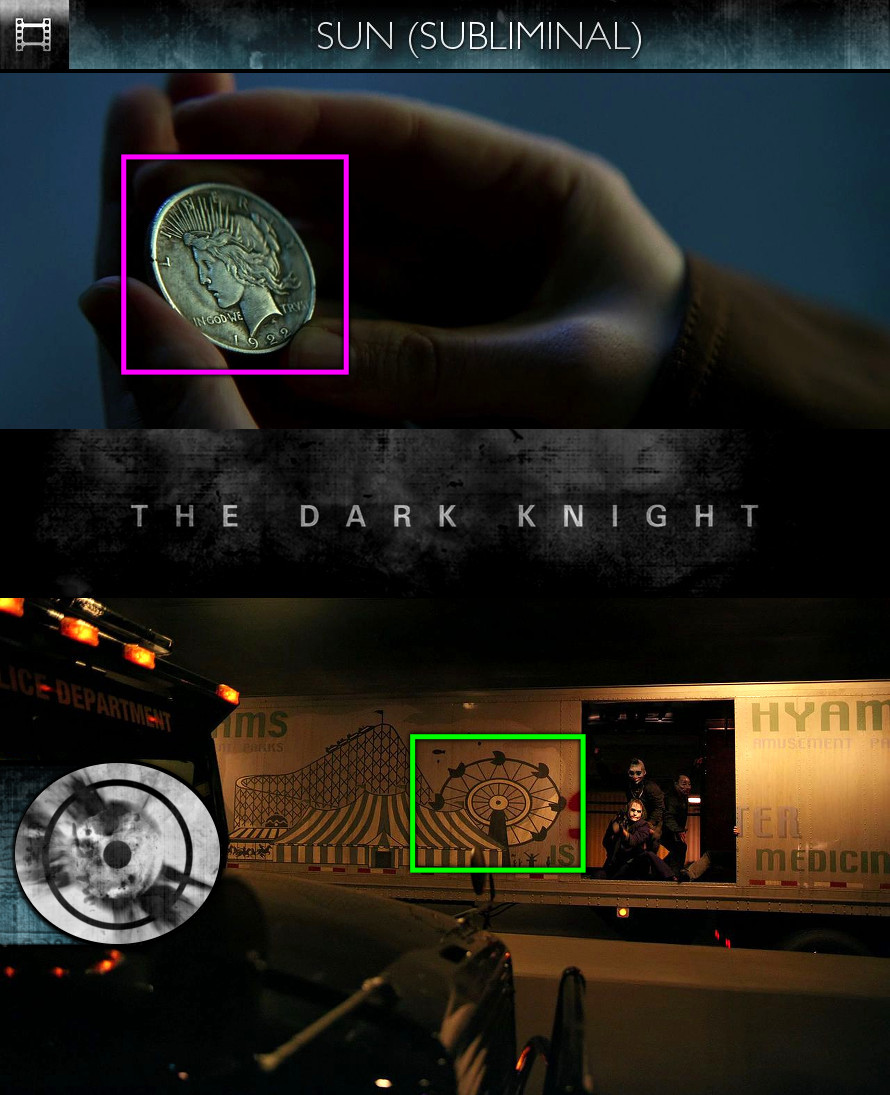 The Dark Knight (2008) - Sun/Solar - Subliminal