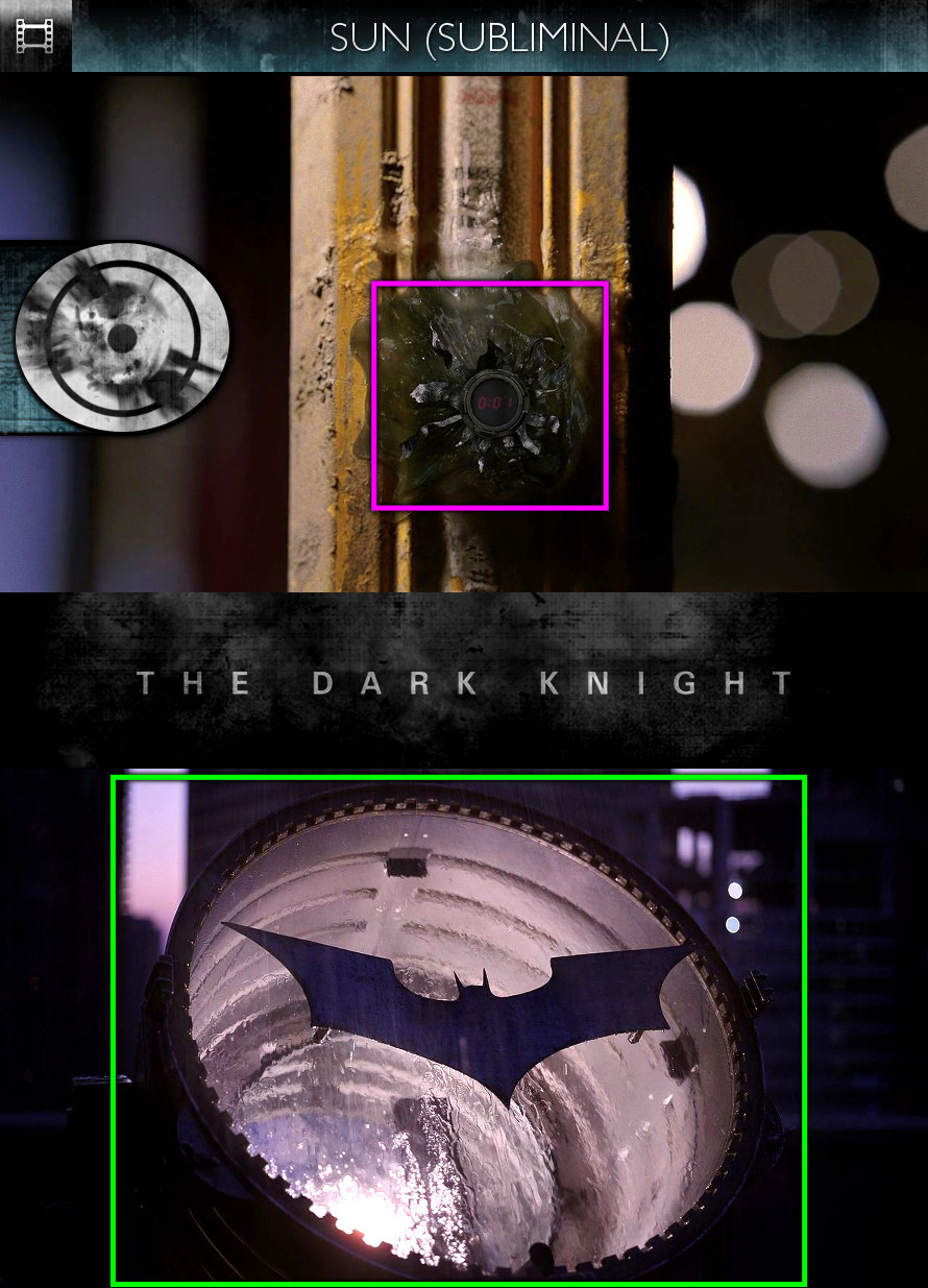 The Dark Knight (2008) - Sun/Solar - Subliminal