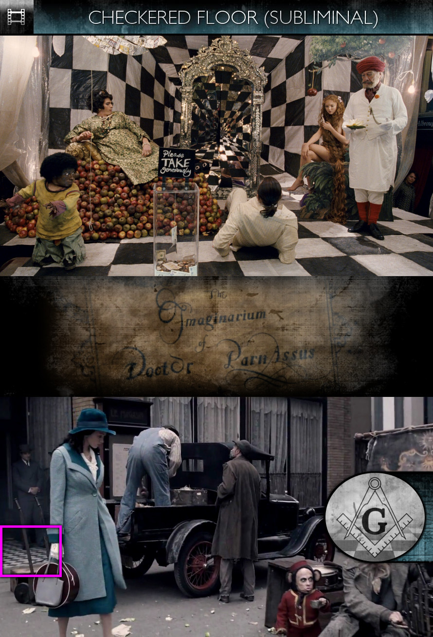 The Imaginarium of Doctor Parnassus (2009) - Checkered Floor - Subliminal