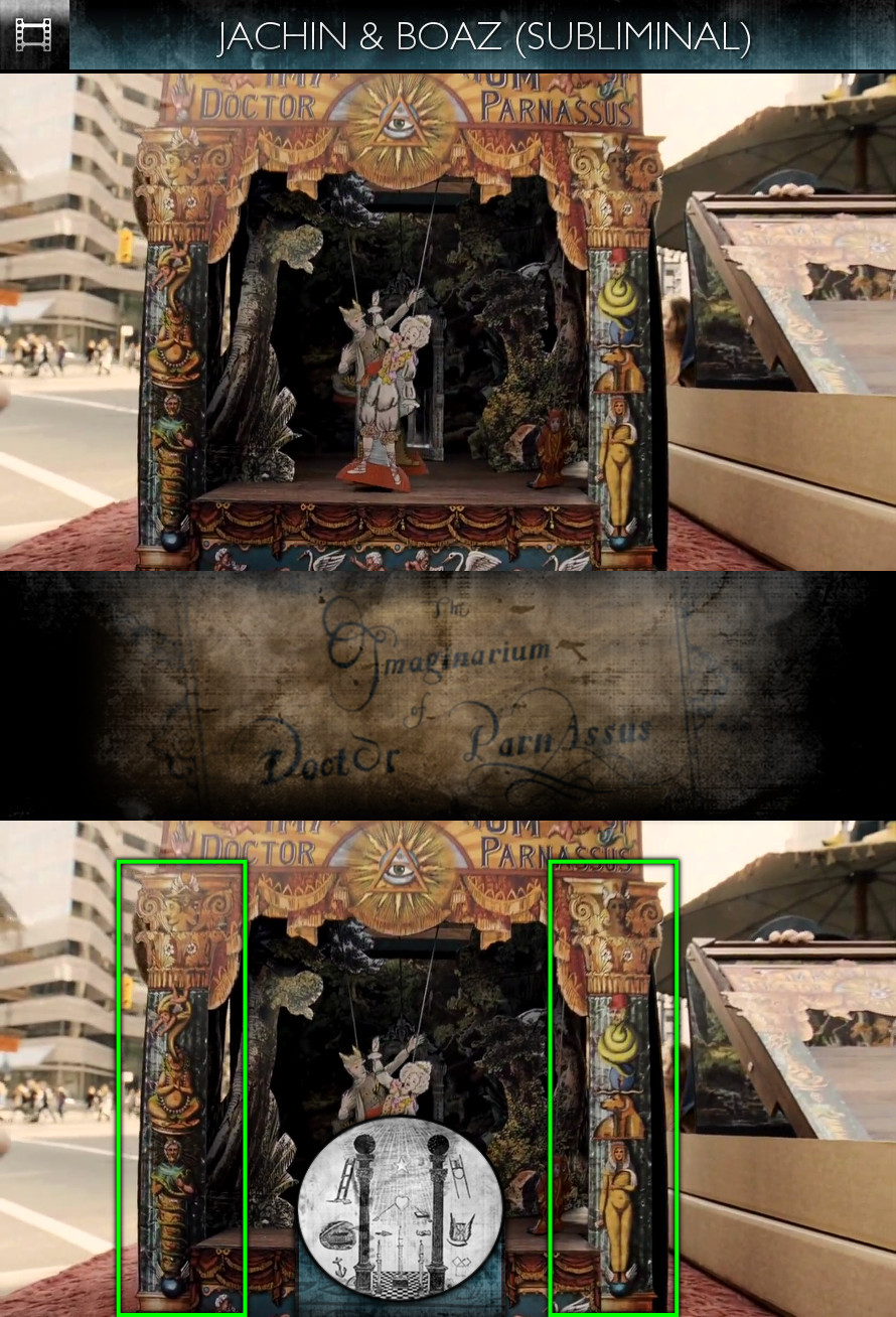 The Imaginarium of Doctor Parnassus (2009) - Jachin & Boaz - Subliminal