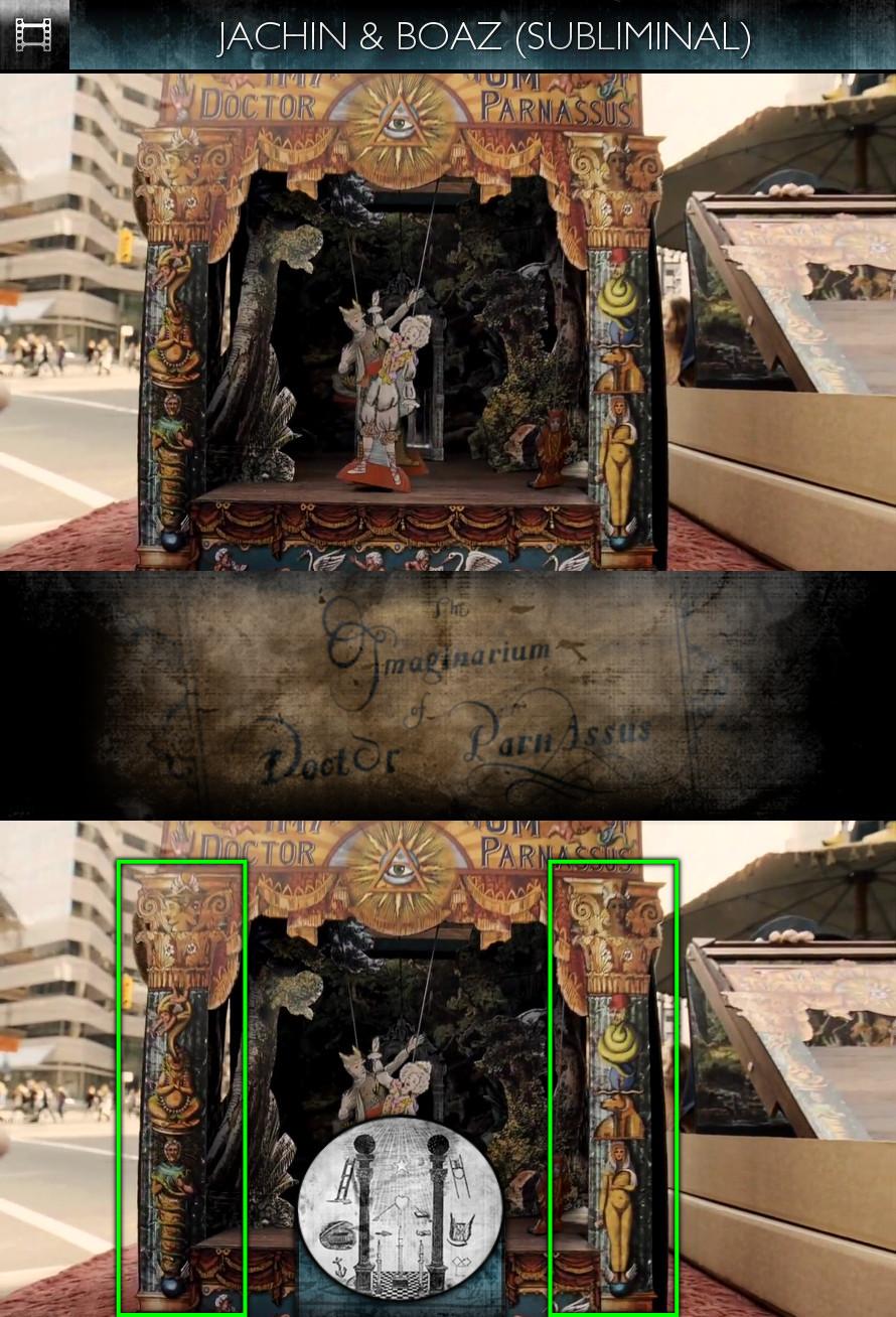 The Imaginarium of Doctor Parnassus (2009) - Jachin & Boaz - Subliminal