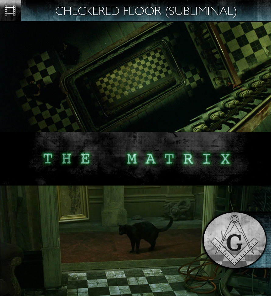 The Matrix (1999) - Checkered Floor - Subliminal