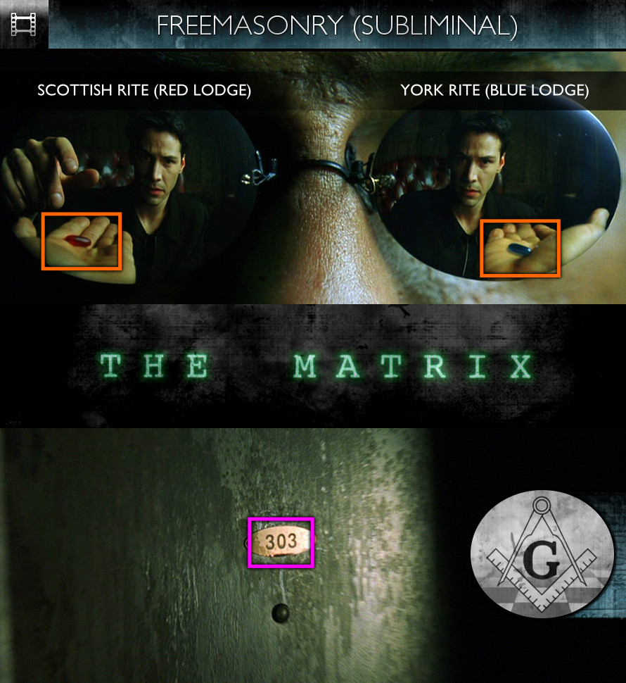 The Matrix (1999) - Freemasonry - Subliminal