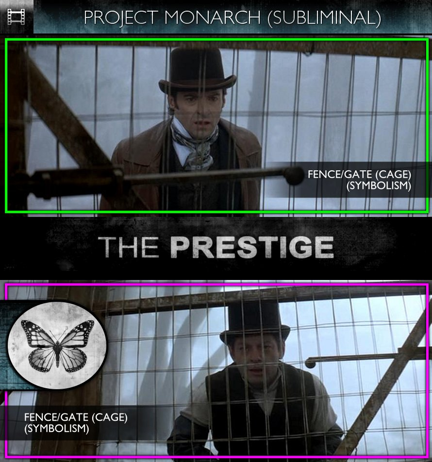The Prestige (2006) - Project Monarch - Subliminal