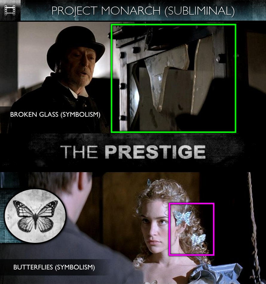 The Prestige (2006) - Project Monarch - Subliminal