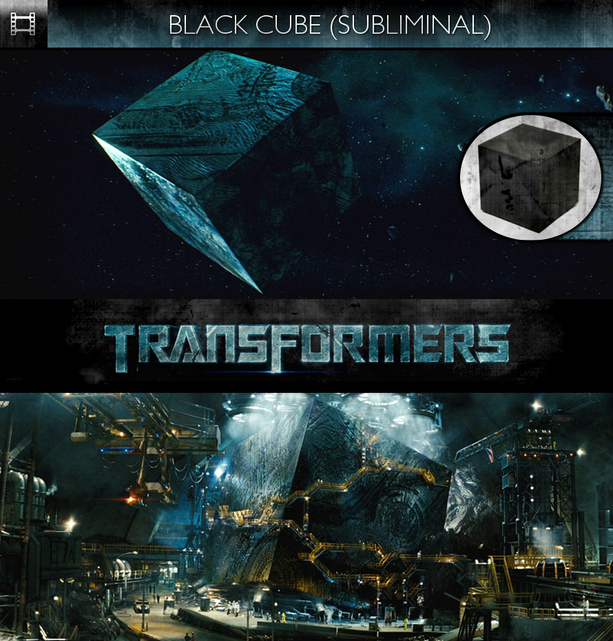 Transformers (2007) - Black Cube - Subliminal