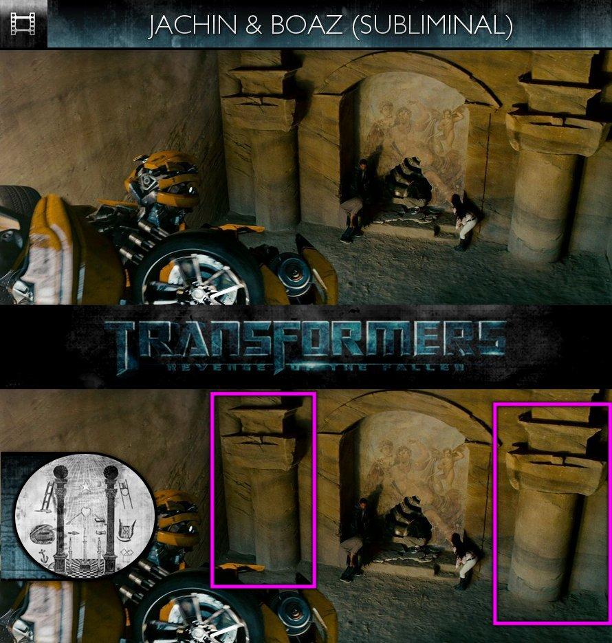 Transformers: Revenge of the Fallen (2009) - Jachin & Boaz - Subliminal