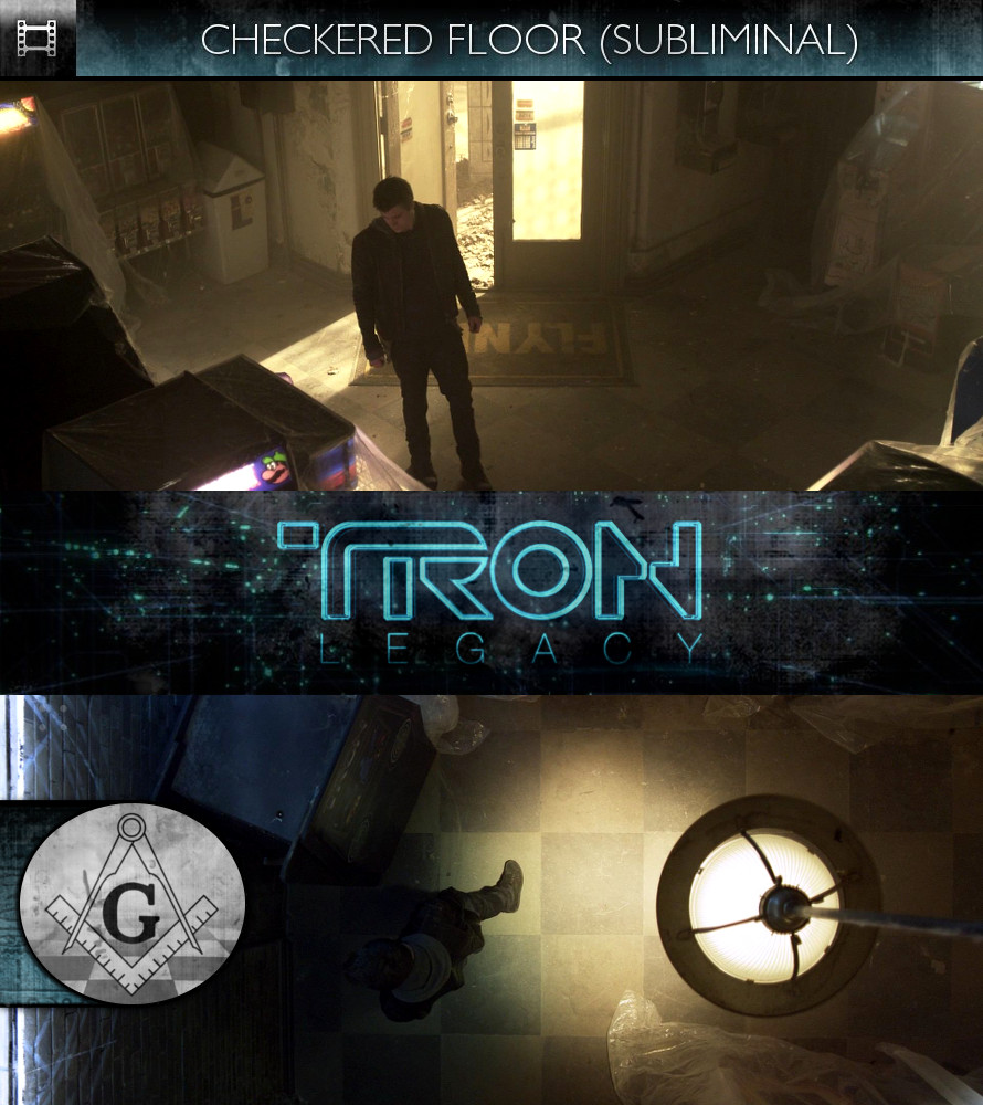 TRON Legacy (2010) - Checkered Floor - Subliminal