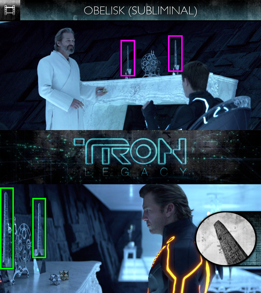 TRON Legacy (2010) - Obelisk - Subliminal