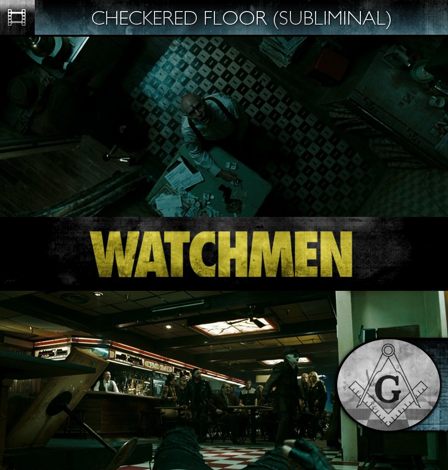Watchmen (2009) - Checkered Floor - Subliminal