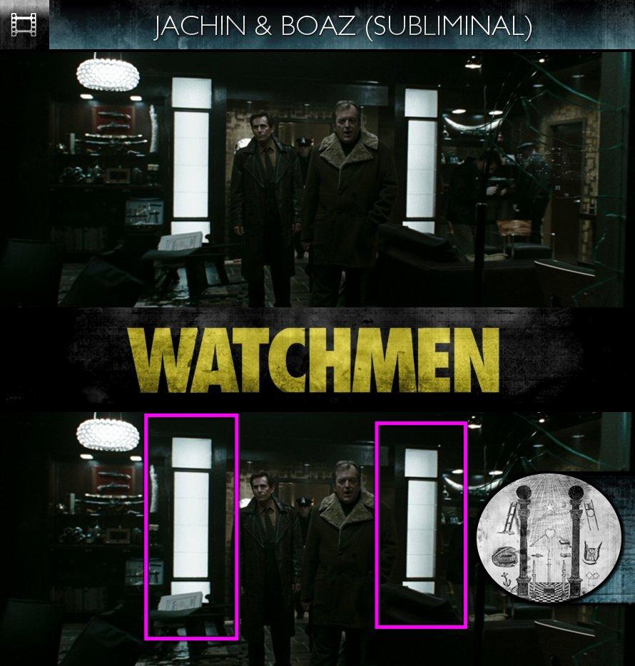 Watchmen (2009) - Jachin & Boaz - Subliminal