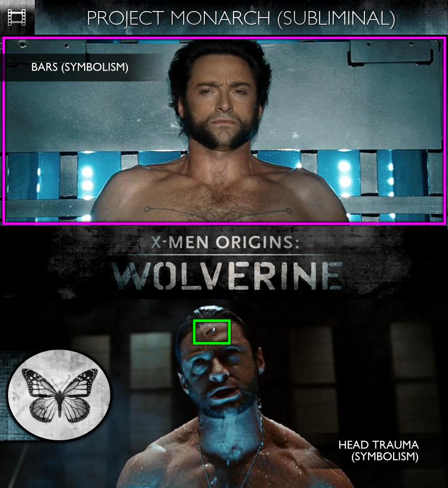 X-Men Origins: Wolverine (2009) - Project Monarch - Subliminal