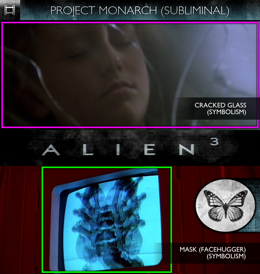 Alien 3 (1992) - Project Monarch - Subliminal