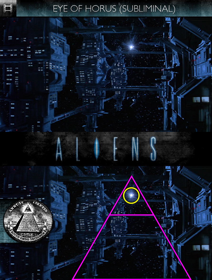 Aliens (1986) - Eye of Horus - Subliminal