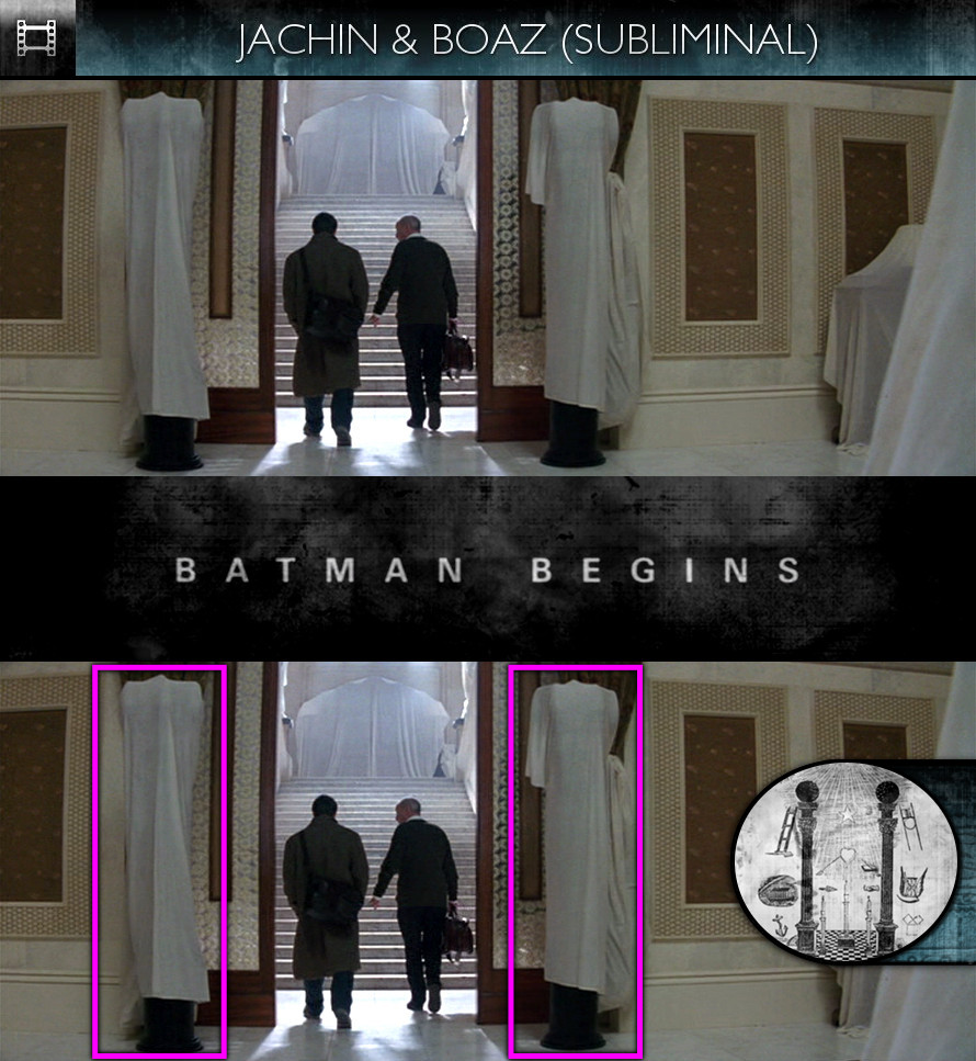 Batman Begins (2005) - Jachin & Boaz - Subliminal