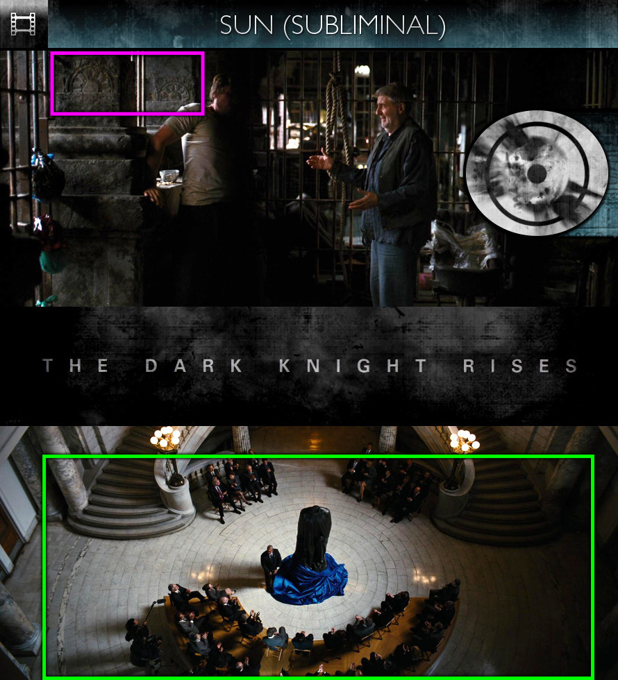 The Dark Knight Rises (2012) - Sun/Solar - Subliminal