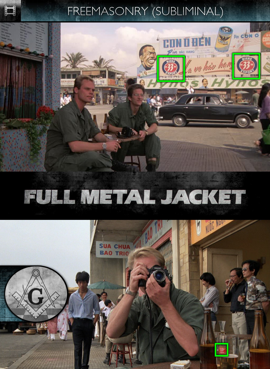 Full Metal Jacket (1987) - Freemasonry - Subliminal