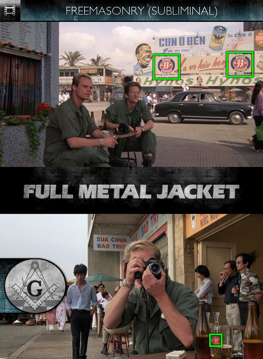 Full Metal Jacket (1987) - Freemasonry - Subliminal