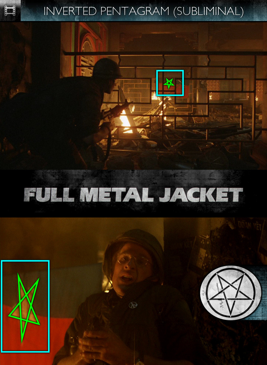 Full Metal Jacket (1987) - Inverted Pentagram - Subliminal