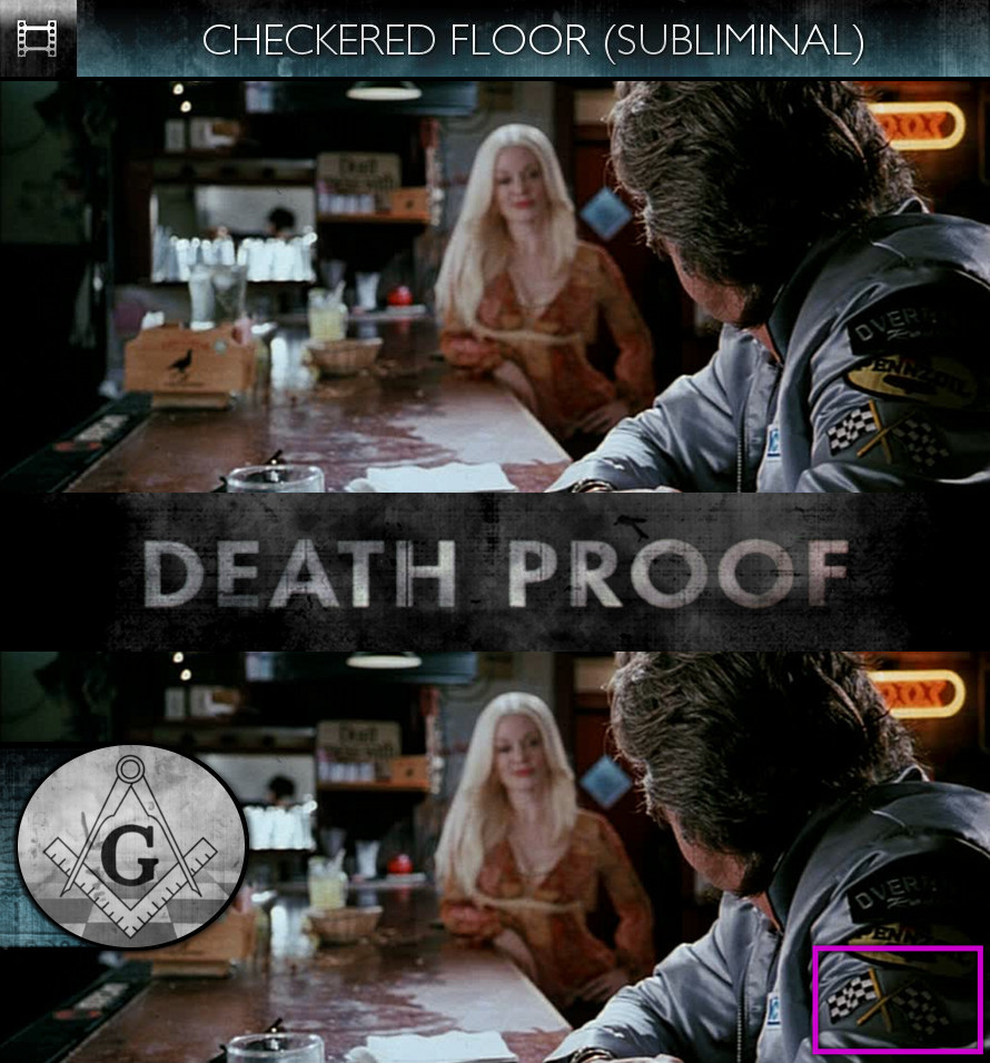 Grindhouse: Death Proof (2007) - Checkered Floor - Subliminal