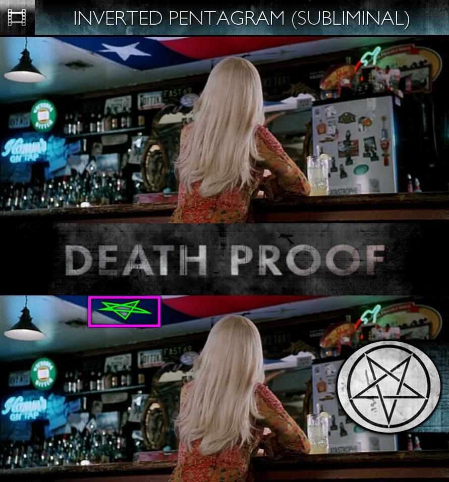 Grindhouse: Death Proof (2007) - Inverted Pentagram - Subliminal