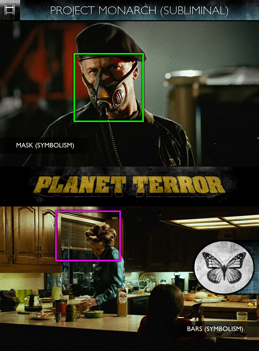 Grindhouse: Planet Terror (2007) - Project Monarch - Subliminal