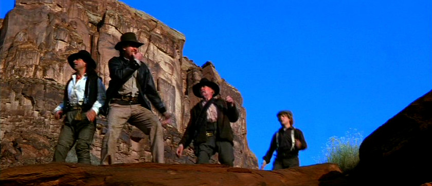 Indiana Jones and the Last Crusade (1989) - Vivid Blue Clear Skies