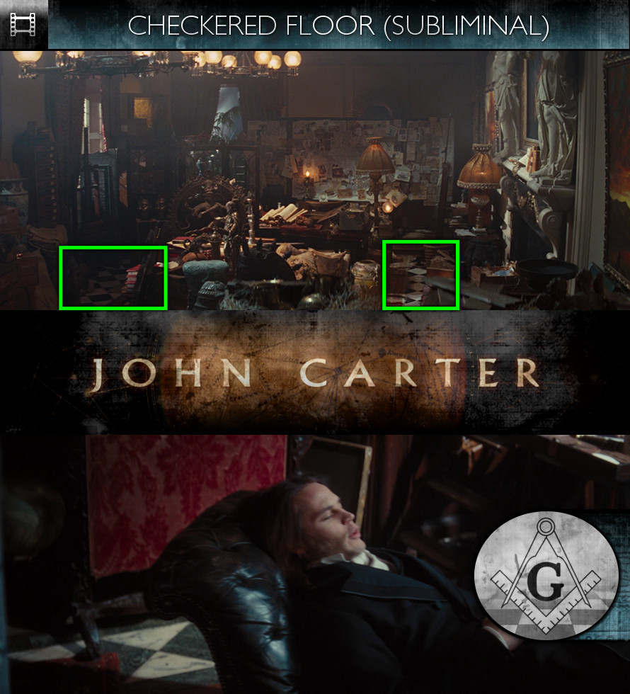 John Carter (2012) - Checkered Floor - Subliminal